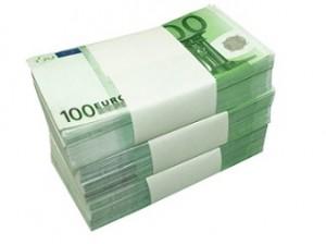 stapel bankbiljetten